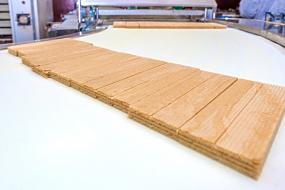 Ligne de production des gaufrettes non enrobées Silvia